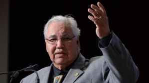 My new hero: Justice Murray  Sinclair, Chair of the Truth and Reconciliation Commission of Canada.