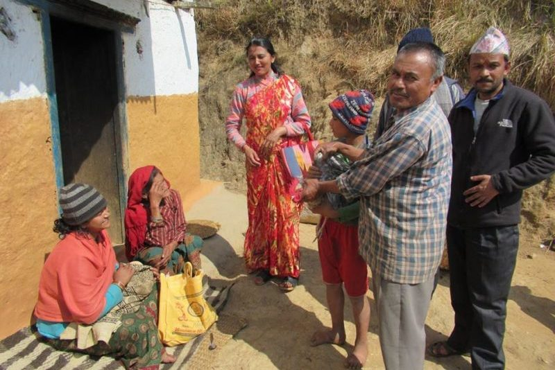 Bhojpur doo-to-door health campaign